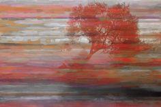 Parvez Taj Falling Tree Art Print on Premium Canvas 12 x 18 Home Decor Wall Decor Canvas Art