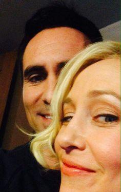 Vera and Nestor on set filming Season 4