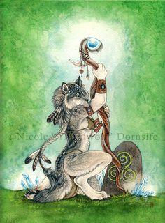 Earth Priestess by thornwolf.deviantart.com on @deviantART