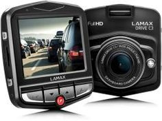Lamax - kamera do auta Dvr Camera, Video Camera, Car Rear View Mirror, Dashcam, Retail Packaging, Wide Angle, Night Vision, Techno, Vehicles