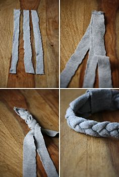 Armband Recycled T Shirts, Some Ideas, Crafty Craft, Chrochet, Ray Ban Sunglasses, Earrings Handmade, Headbands, Upcycle, Diy Crafts