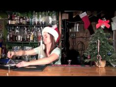 Forget the Pina Colada, Charity is showing us how to make a Christmas Colada!  www.bartendingschool4free.com