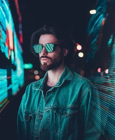 24 New Ideas For Neon Lighting Photography Fashion Night Street Photography, Neon Photography, Portrait Photography Men, Photography Poses For Men, Amazing Photography, Fashion Photography, Photography Lighting, Portrait Fotografia, Night Portrait