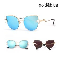 Vintage Summer Style For Women uxury Crystal Cat Eye Sunglasses Women's Fashion Brand Designer Glasses crook Leg Sunglasses