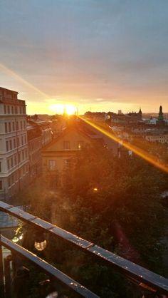 Södra teatern stockholm solnedgång