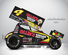 Doug wolfgang at eldora doug wolfgang pinterest dirt for Dirt track race car paint schemes