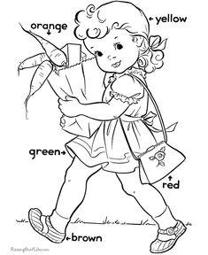 Learn colors for preschool