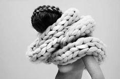 Chunky 3D Knitwear : Anna Dudzinska