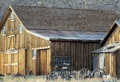 Barns....I love this! Its so old west looking.