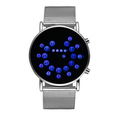 Fashion Brand Mens Watches Relogio Masculino Waterproof Quartz LED Digital Watch Stainless Steel Womens Watch Relojes Mujer #Affiliate