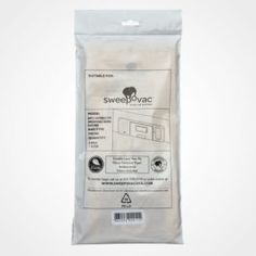 Sweepovac SVB 5 pk of Replacement Bags & 1 Filter