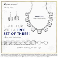 Do you like free jewelry and having fun with friends??? Contact me to find out how!!! Book a qualifying pop-up with me for Nov and earn these Candi's for FREE!!!! Who can use a little pick me up for the holidays??? C.ibyjusadore@gmail.com -www.jusadore.com
