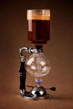 Alternate coffee brewing method: Yama siphon brewer