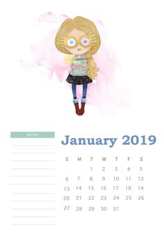 Harry Potter January 2019 Calendar, DIY and Crafts, Harry Potter January 2019 Calendar. Harry Potter Calendar, Harry Potter Planner, Theme Harry Potter, Harry Potter Facts, Harry Potter Quotes, Harry Potter Diy, Harry Potter Fandom, Hogwarts, Classe Harry Potter