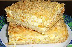 Streuselkuchen mit Mandarinen und Schmand