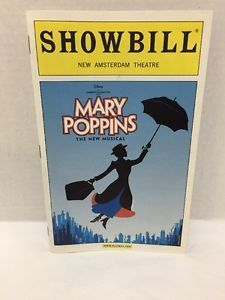 Mary Poppins Playbill Oct 2006 Ashley Brown Gavin Lee Broadway Musical | Broadway | Pinterest