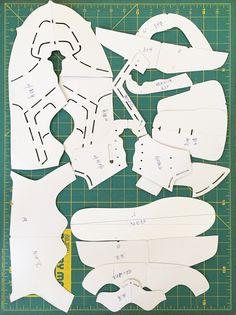 Shoe+pattern+making+process