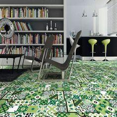Средиземноморской зеленый фон столовая кухня Ванная комната стены цвет мозаика противоскользящая плитка плитка 300