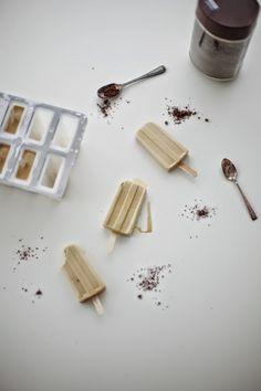 Poppytalk: Milky Vietnamese Coffee Popsicles