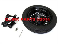 2013-2015 Dodge Dart SPARE TIRE HARDWARE AND JACK KIT OEM NEW MOPAR GENUINE  #MOPAR