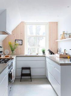 Cocinas blancas de todos los estilos