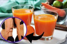 Suco Detox de Cenoura e Limão para Perder 3 Kg em 1 Semana | Dicas de Saúde