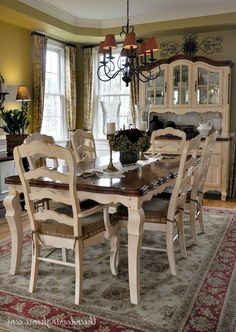 09472a09aea 97+ Marvelous French Country Dining Rooms Decoration Ideas - Page 7 of 99