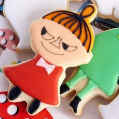Little My Cookies Cookies For Kids, Cut Out Cookies, Cute Cookies, Yummy Cookies, Cupcake Cookies, Galletas Cookies, Iced Cookies, Holiday Cookies, Biscuit Bar