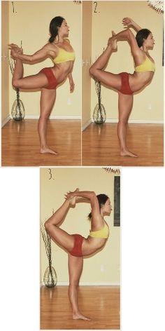 How to do Natarajasana (King Dancer Pose) Yoga Benefits...someday!