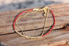adorn512 - silhouette art, handstamped jewelry, k.amato and wrap bracelets — Dainty Beaded Bracelets