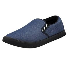 It has 1 pair of Casual Shoes Material; Outer Layer: Canvas, Sole: PVC Type: Canvas Size: UK/ IND Size: 6, 7, 8, 9, 10 Euro Size: 40, 41, 42, 43, 44 Sizes in CM: 23.5, 24.5, 25.2, 26, 26.8 Closure: Slip On Occasion: Casual Color Declaration: There might be slight variations in the actual color of the product due to different screen resolutions. Product Weight (In gm): 478 g Package Dimension ( L X W X D in Inches): 9 x 5 x 3 Canvas Size, Casual Shoes, Slip On, Pairs, Sneakers, Men, Fashion, Tennis, Moda