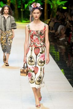 Dolce & Gabbana Spring/Summer 2017 Ready To Wear Collection | British Vogue