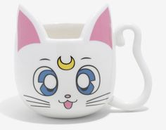 Sailor Moon Artemis And Luna Mugs Will Poke Your Eye Out