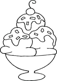 Ice Cream Cone Coloring Page Printable Ice Cream Cone Coloring Pages Ice Cream Coloring Pages Free Coloring Pages Truck Coloring Pages