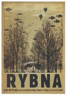 Palac w Rybnej Check also other posters from PLAKAT-POLSKA series Original Polish poster designer: Ryszard Kaja year: 2013 size: Art Deco Posters, Cool Posters, Film Posters, Polish Posters, Composition Art, Vintage Travel Posters, Vintage Logos, Color Of Life, Art Pictures