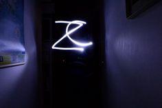 #writing...cose strane accadono al buio..  #neon #giochidiluce #creativity