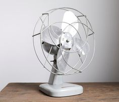 Suzie, this would be perfect for your vintage camper!  smile mercantile | electric desk fan $43