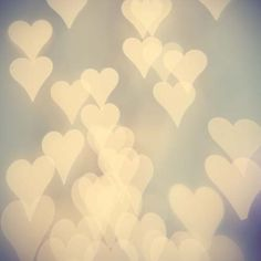 Abstract Photography My Heart white hearts by AmeliaKayPhotography, $17.00