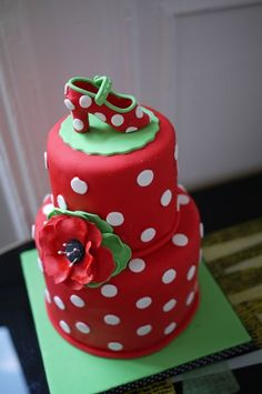 Flamenco Cake I want this so bad!!
