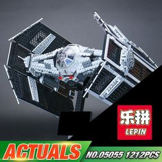 Star Wars Series UCS Advanced Tie Fighter 1212pcs (Lego Model: 10175)
