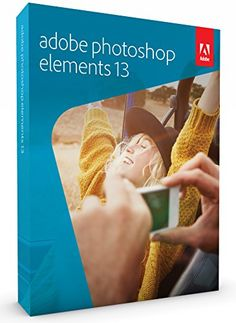 Deal of the Day: Save up to Off Adobe Photoshop Elements for only! Today only, save on photo-editing software from Adobe. Photoshop Elements 13 lets you easily organize, edit, create, and share photos. Adobe Photoshop Elements, Photoshop Tips, Photoshop Face, Photoshop Software, Learn Photoshop, Black Store, Adobe Illustrator, Lightroom, Digital Art Software