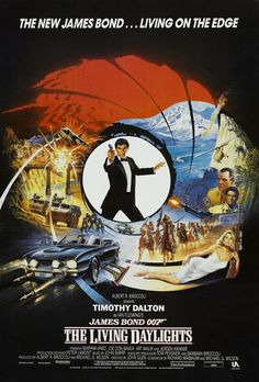 The Living Daylights - James Bond is living on the edge to stop an evil arms dealer from starting another world war. Bond crosses all seven continents in order to stop the evil Whitaker and General Koskov.