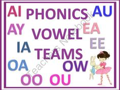 Phonics Vowel Teams from Donna-Thompson on TeachersNotebook.com -  (15 pages)  - This product is a collection of vowels teams. Students can practice reading, saying, spelling, tracing, and writing these printable. All of these different ways to practice will help the kids.