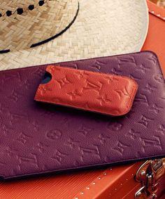 Louis Vuitton iPhone iPad case