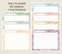 DIY:  Free Printable:  2 different printables to choose from.