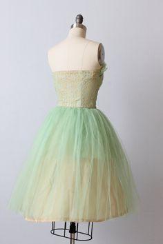 SALE Vintage 1950s Dress / Prom Dress / by TheVintageMistress