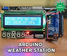 Dear friends welcome to another Arduino project tutorial! In this tutorial we are going to take a first look at the new BME280 sensor, a new very interesting sensor. We are going to build a simple but very accurate weather station project. I have built a similar project 2 years ago, using different sensors. Now that we have a new sensor available which makes things easier, it's time to update the project. As you can see, on the LCD display we can see the temperature, the humidity an...