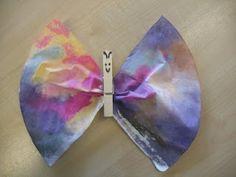 Vlinders uit een koffiefilter
