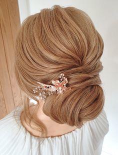 A low airy bun #lowbun #bride #hairupideas #essex #london #hairup #bridalhair #bun Date Hairstyles, Wedding Hairstyles, October Wedding, Wedding Day, Bridal Hair Up, Essex London, About Hair, Bridesmaid Hair, Wedding Trends