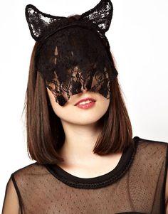 ASOS | ASOS Cat Ear Lace Headband